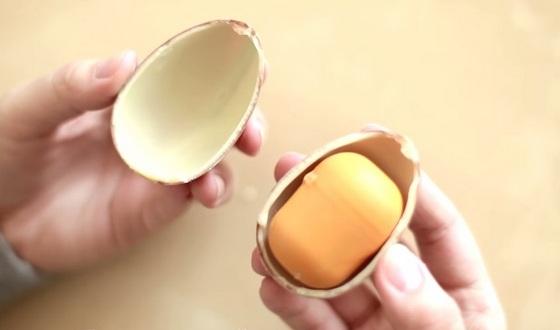 Как сделать большой Киндер Сюрприз своими руками? Гигантское яйцо в домашних условиях